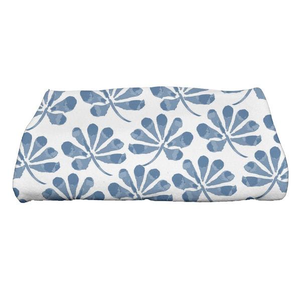 30 x 60-inch Ina Floral Print Bath Towel
