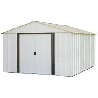 Arrow Arlington 10' x 12' Galvanized Steel Storage Shed
