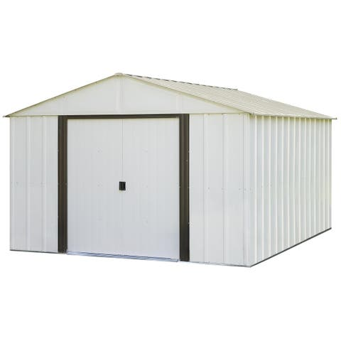 Arrow Arlington 10' x 12' Galvanized Steel Storage Shed