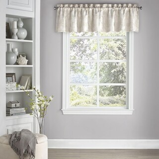Eclipse Mallory Blackout Floral Curtain Valance