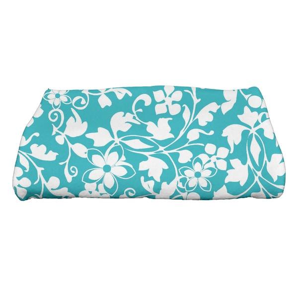 30 x 60-inch Evelyn Floral Print Bath Towel