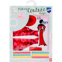 Dress Your Doll Making Couture Outfit Set-Mary Red Roses