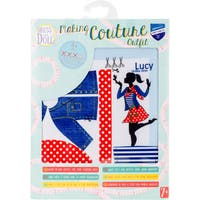 Dress Your Doll Making Couture Outfit Set-Lucy Polka Dots