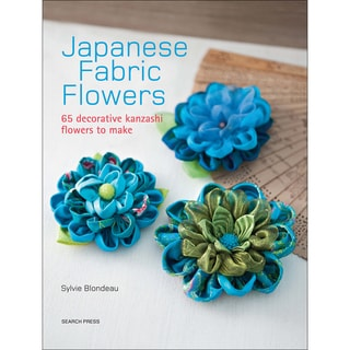 Search Press Books-Japanese Fabric Flowers