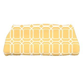 28 x 58-inch, O the Fun, Geometric Print Bath Towel