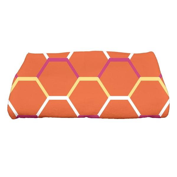28 x 58-inch, Cool Shades, Geometric Print Bath Towel