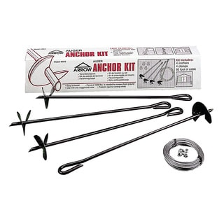 Arrow Concrete Anchor Kit (Clips & Shields)