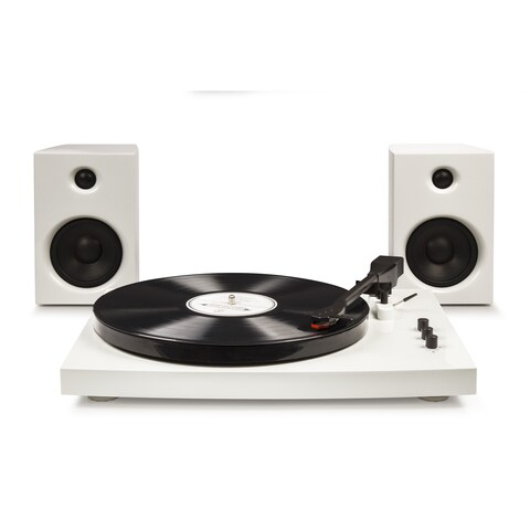 T100 Turntable System- White