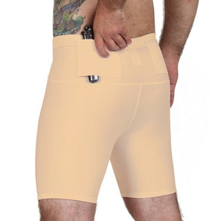 IS Pro Tactical by Insta Slim Men's Concealment Compression Short (More options available)