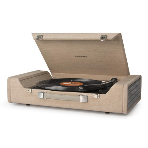 Nomad USB Turntable- Brown