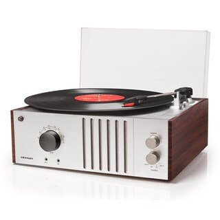 Player Turntable- Mahogany