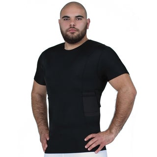 IS Pro Tactical by Insta Slim Concealment Compression Crew Neck Shirt