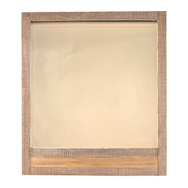 Hillsdale Furniture Bolero Sand Brushed Earth Tone Wood Mirror - Light Brown