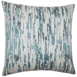 Xanti Graphic 24-inch  Feather Throw Pillow River