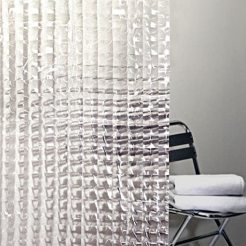 Splash Home Cubic Clreat Shower Curtain