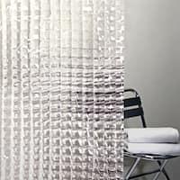 Splash Home Cubic Clreat Shower Curtain