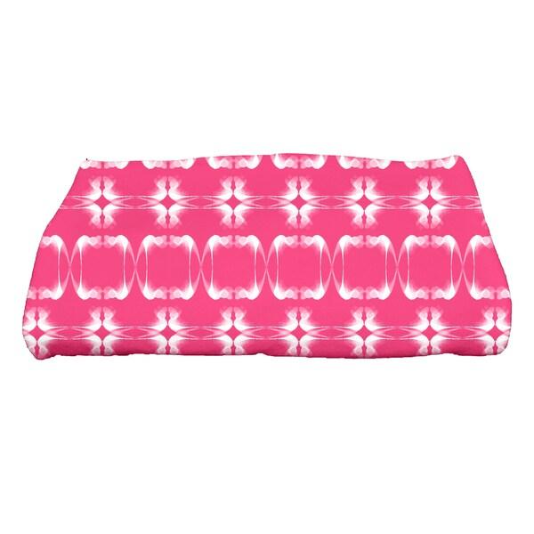 28 x 58-inch, Summer Picnic, Geometric Print Bath Towel