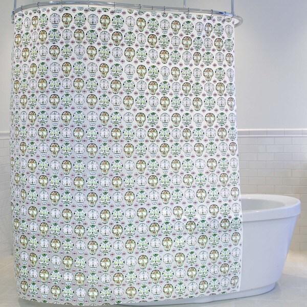 Splash Home Skull Candy Shower Curtain