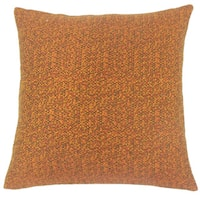 Grisel Woven 24-inch  Feather Throw Pillow Tamale