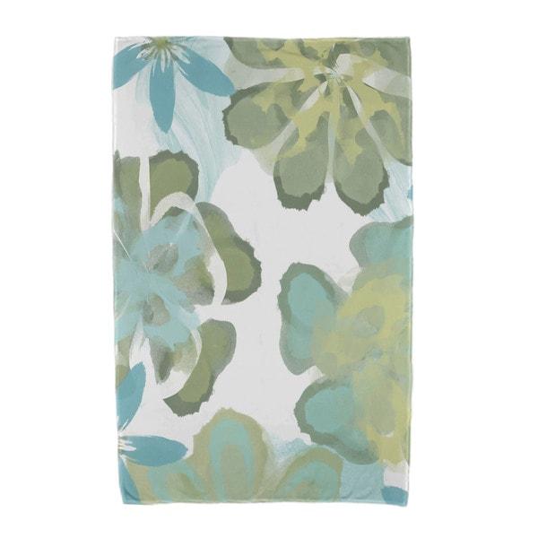 Ani Floral Print Beach Towels