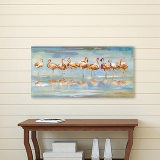 Portfolio Canvas Décor Flamingo Reflections by Frank Parson Wrapped Canvas Wall Art