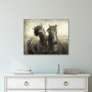 Portfolio Canvas Décor Horses Don't Whisper by Lars Van de Goor Wrapped Canvas Wall Art