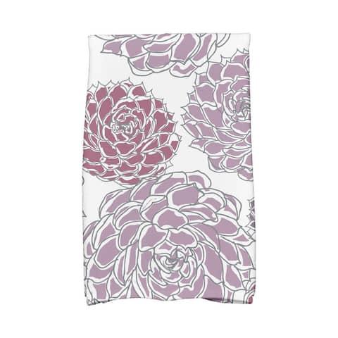Olivia Floral Print Hand Towels