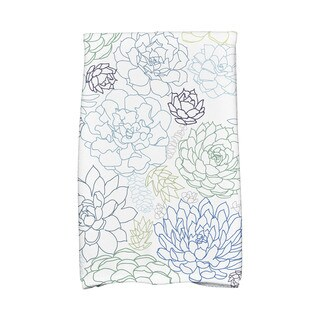 Opal Floral Print Hand Towels