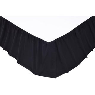 Shop Solid 16 Inch Drop Bed Skirt On Sale Free Shipping On