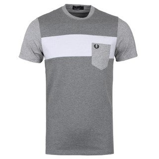 Fred Perry Grey Pique T-shirt