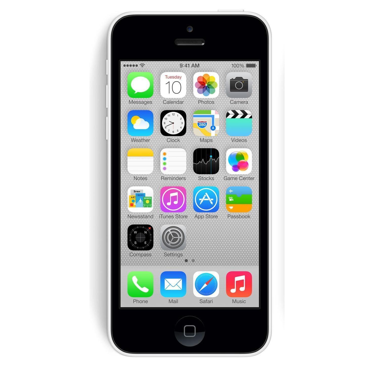 Apple Iphone 5C - 16GB - Verizon (Unlocked) Smartphone - ...