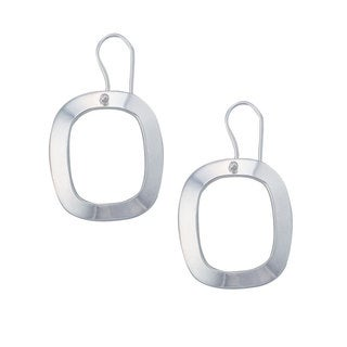Handmade Sterling Silver Hoop Earrings (Mexico)