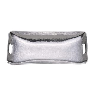 Towle Hammered 18.5 Inch Serving Tray|https://ak1.ostkcdn.com/images/products/15649098/P22078718.jpg?impolicy=medium