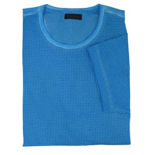 Z Zegna Turquoise Gingham T-shirt