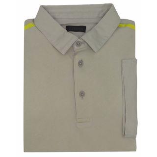 Z Zegna Beige Cotton Polo T-shirt
