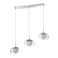Piccolo Series 3-light Chrome Pendant Bar