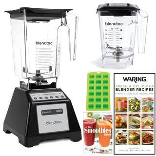 Blendtec Total Blender with WildSide Jar + Mini Wildside Jar Bundle