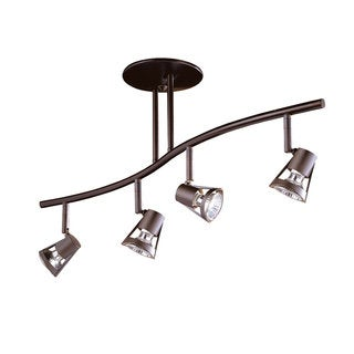 SORELLA series 4-Light Oil Rubbed Bronze fixed rail fixture