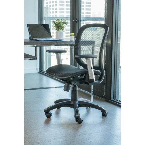 Fully Meshed Ergo Office Chair (Black)