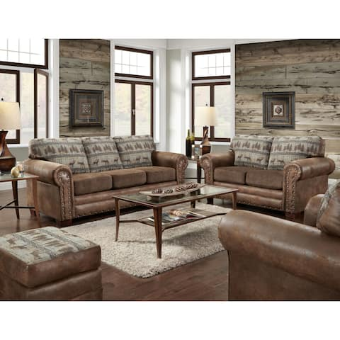 Buy Rustic Living Room Furniture Sets Online At Overstock Our Best