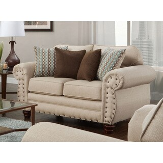 American Furniture Classics Abington Sand Loveseat