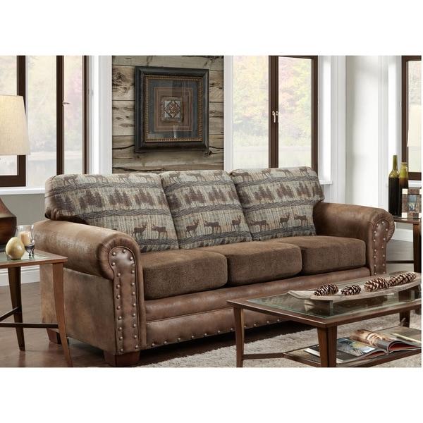 Shop American Furniture Classics Deer Teal Lodge Tapestry