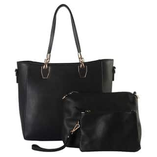 Diophyr 3 Pieces Set with Large Tote Bag and Matching Medium & Small Cosmetic Bags|https://ak1.ostkcdn.com/images/products/15662153/P22088182.jpg?impolicy=medium