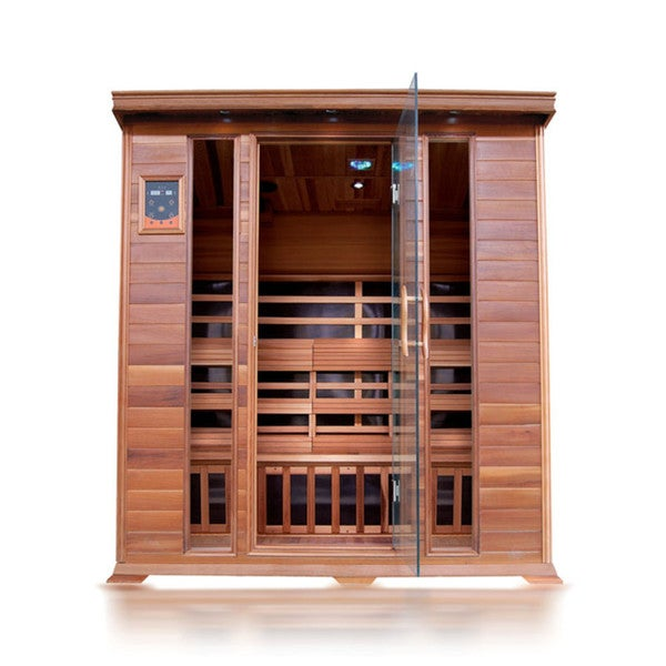 Sequioa 4-person Cedar Sauna with Carbon Heaters