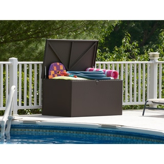Lifetime Deluxe 130 Gallon Deck Storage Box Free