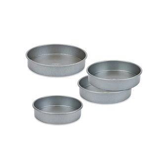 4 -piece Round Cake Pan Set