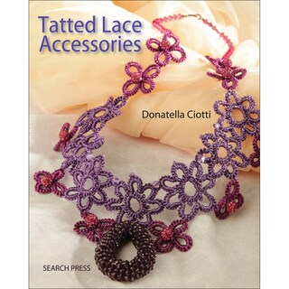 Search Press Books-Tatted Lace Accessories