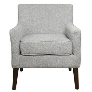 HomePop Davis Mid Century Accent Chair - Ash Grey