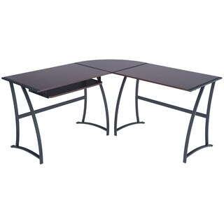 Poly and Bark Talmadge L-shaped Computer Desk Group