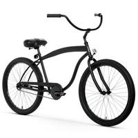 "26"" sixthreezero In The Barrel Single Speed Beach Cruiser Men's Bicycle, Matte Black"
